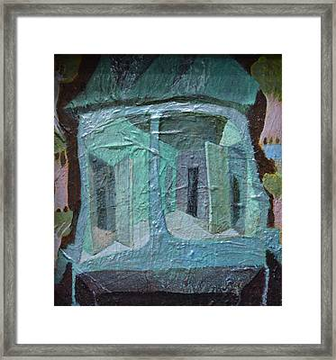 House On Wheels Framed Print by Nancy Mauerman