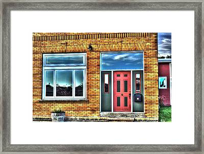 House Reflections Framed Print