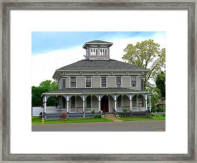 House Framed Print by Rhonda Barrett
