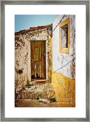 House Ruin Framed Print by Carlos Caetano