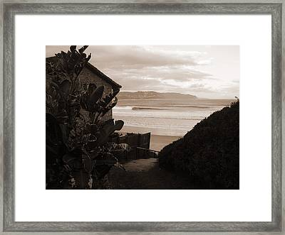 House With A View Framed Print by Waldemar  Van Wyk