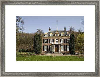 House Zypendaal In Arnhem Netherlands Framed Print by Ronald Jansen