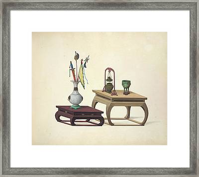 Household Accessories Framed Print by British Library