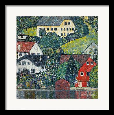 Hill Towns Framed Prints