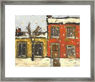Houses In Sydenham Ward Framed Print