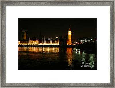 Houses Of Parliament - London Framed Print