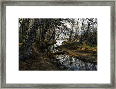 Houston Creek Framed Print