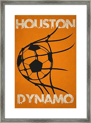 Houston Dynamo Goal Framed Print by Joe Hamilton