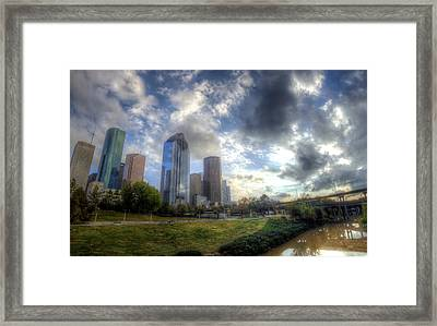 Houston Framed Print by Micah Goff