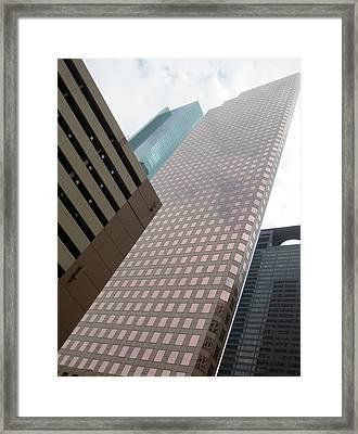 Houston Monoliths Framed Print by Tony Grider