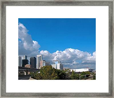 Houston Skyline Southeast Framed Print