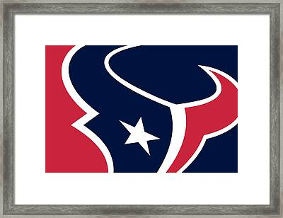 Houston Texans Framed Print