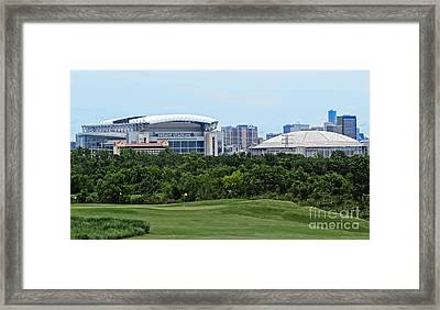 Houston Texas Framed Print by Ella Kaye Dickey