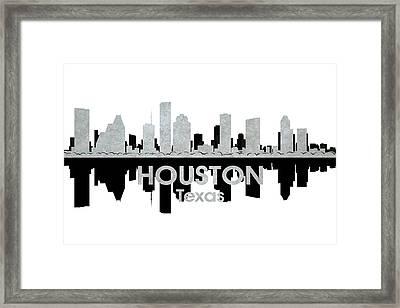 Houston Tx 4 Framed Print by Angelina Vick