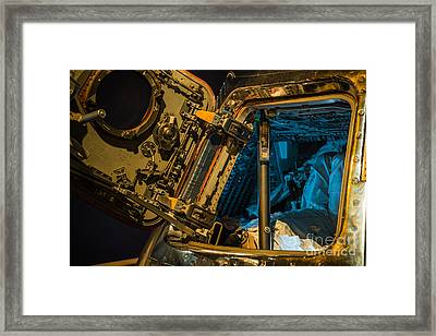Houston We Have A Problem Framed Print by Rich Priest