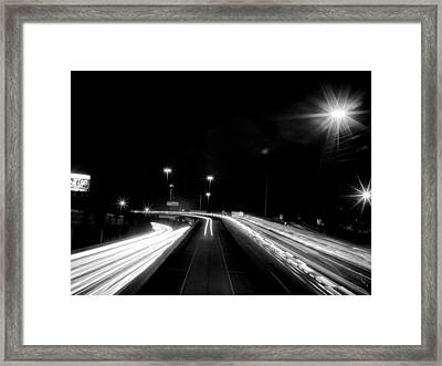 Houston's Finest Black And White Framed Print by Joshua House