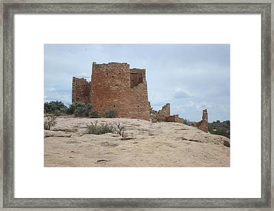 Hovenweap Castle Ruins Framed Print