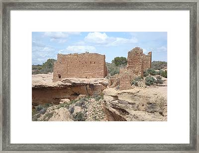 Hovenweap Castle Framed Print