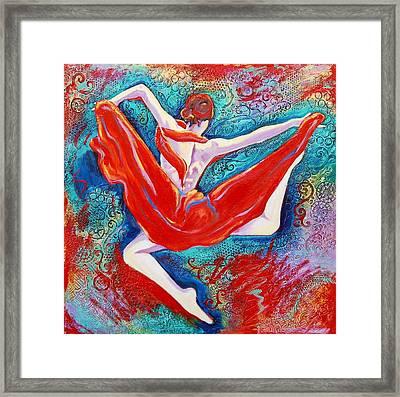 Hovering Above Framed Print
