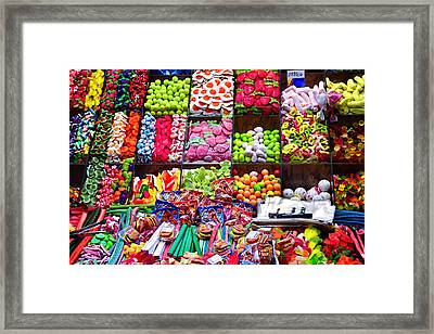 How About A Bag Of Candy  Framed Print