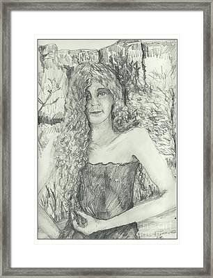 How About This? Framed Print by Joseph Wetzel