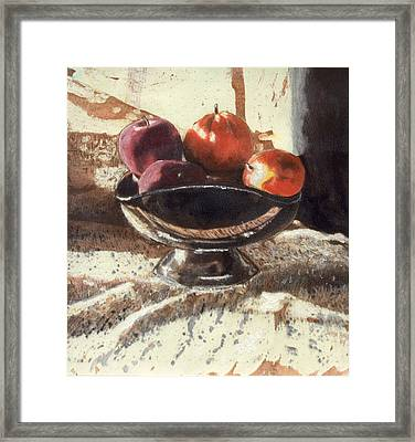 How Bout Those Apples II Framed Print