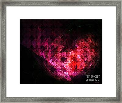 How Can You Mend A Broken Heart? Framed Print by Elizabeth McTaggart