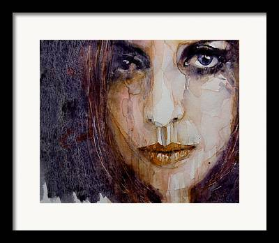 Woman Crying Framed Prints