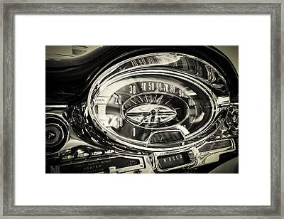 How Fast And How Far Framed Print