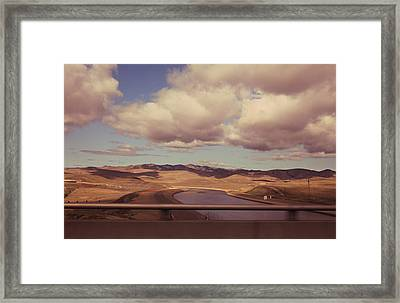 How Free It Feels Framed Print