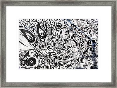 How Many Eyes Framed Print