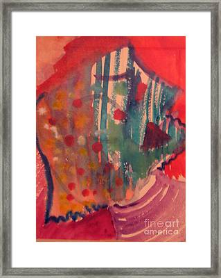How Much I Loved You Original Contemporary Modern Abstract Art Painting Framed Print