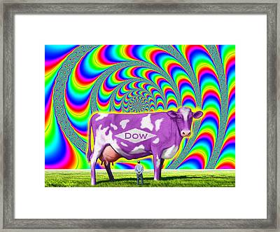 How Now Dow Cow? Framed Print