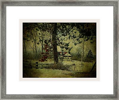 How Spring Came Framed Print by Dianne  Lacourciere