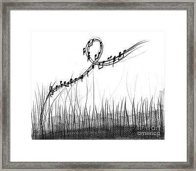How Sweet The Sound Framed Print