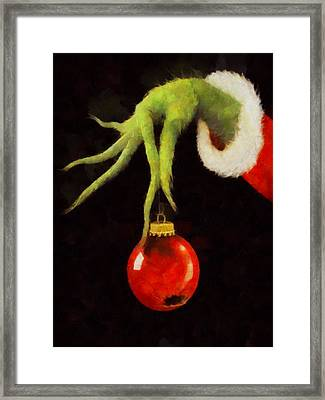 How The Grinch Stole Christmas Framed Print