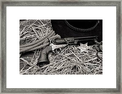 How The West Was Won Framed Print by Paul Ward