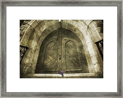 How To Unlock Doors Framed Print by Betsy Knapp