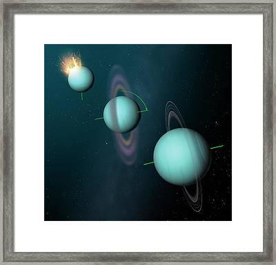 How Uranus Got Its Tilt Framed Print