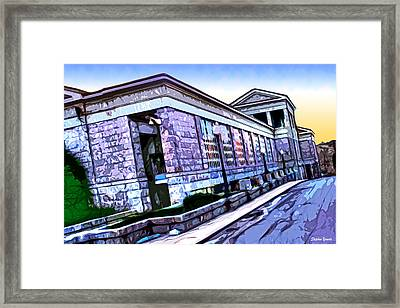 Howard County Courthouse Framed Print by Stephen Younts