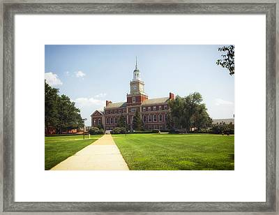 Howard University Campus Framed Print by Mountain Dreams