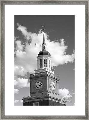 Howard University Founders Library Framed Print by University Icons