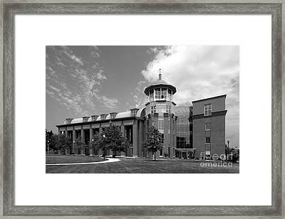 Howard University Health Sciences Library Framed Print by University Icons