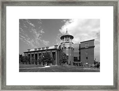 Howard University Health Sciences Library Framed Print