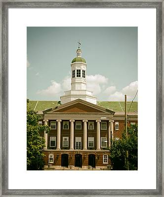 Howard University Library Framed Print by Mountain Dreams