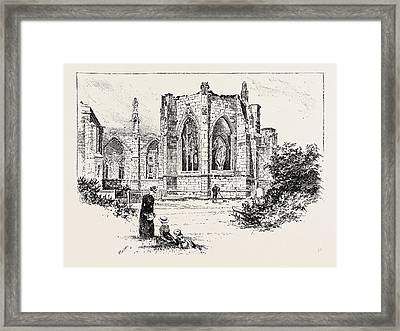 Howden, The Chapter House Framed Print