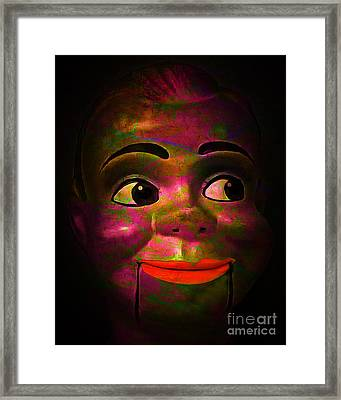 Howdy 20150102 V2 Framed Print by Wingsdomain Art and Photography