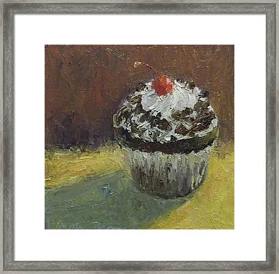 Howdy Cupcake Framed Print