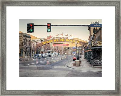 Howdy Folks Framed Print by Juli Scalzi