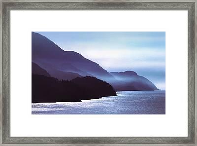 Howe Sound Framed Print